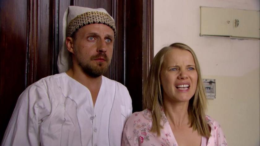 """Kadr z serialu """"O mnie się nie martw"""""""