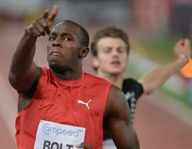 Bolt po plaży też biega najszybciej