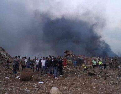 """Bejrut, Liban. Relacje świadków potężnej eksplozji. """"Szkło tłukło się..."""