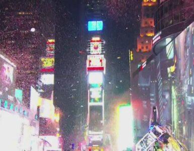 Milion ludzi powitało 2015 r. na Times Square w Nowym Jorku