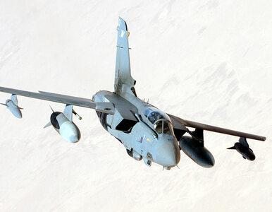 Brytyjskie samoloty Tornado atakują IS