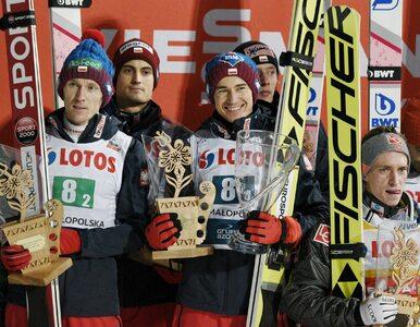Olimpijski konkurs drużynowy. Polacy wysoko po pierwszej serii