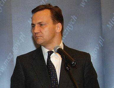 Nowa funkcja Radosława Sikorskiego