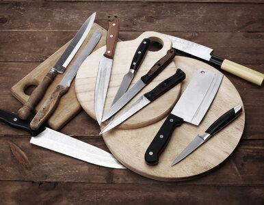 Noże są zbyt... ostre? Zaskakujący pomysł sędziego na walkę z nożownikami