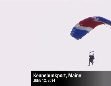 Bush skończył 90 lat i... skoczył ze spadochronem