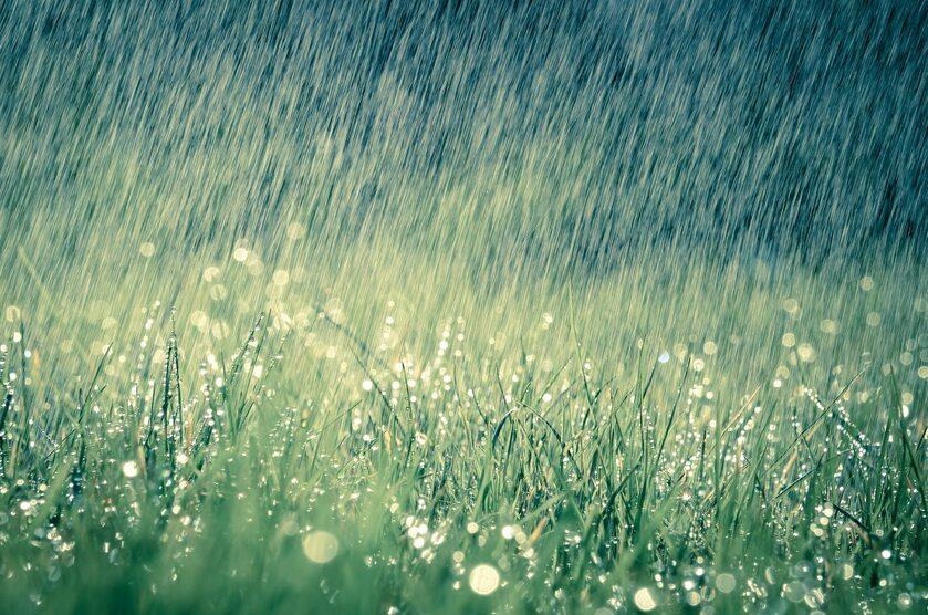 Deszcz, zdj. ilustracyjne