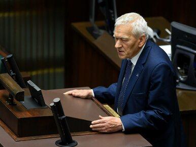 Incydent przed Sejmem z udziałem Kornela Morawieckiego. Interweniowała...