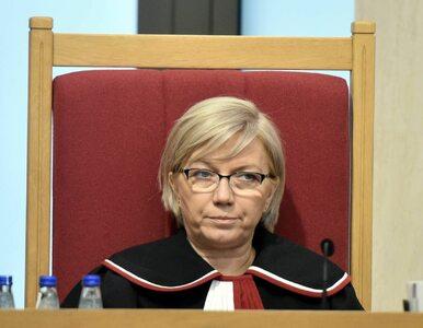 Stępień: Nowym p.o. prezesa TK zostanie Przyłębska. Za zasługi swoje i męża