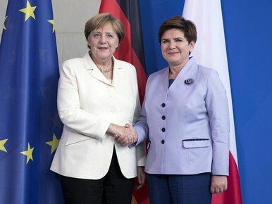 Znamy listę tematów Szydło i Merkel. Przypominamy też, o czym rozmawiały...