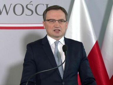 """Minister Ziobro chce usuwać sędziów z zawodu. """"Musimy podnieść standardy"""""""