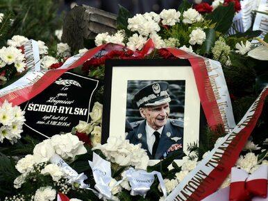 """Gen. Ścibor-Rylski spoczął na Powązkach. """"Miał cechę niezbyt często..."""