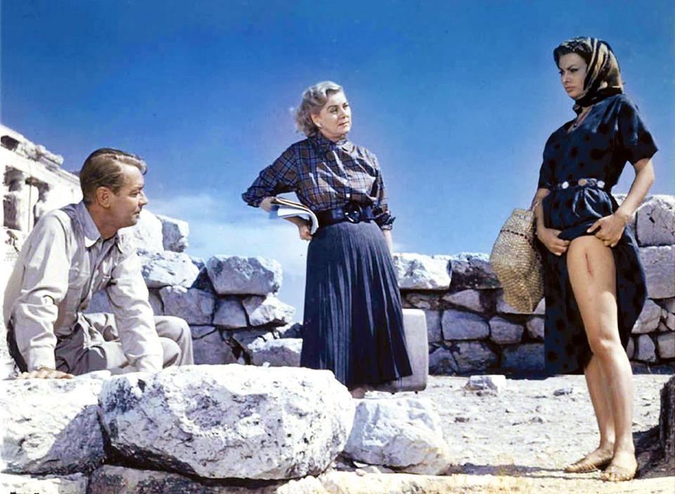 """Sophia Loren w filmie """"Chłopiec na delfinie"""" (1957)"""