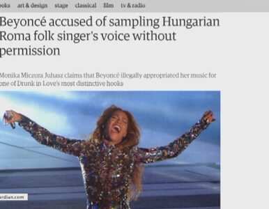 Beyonce oskarżona o plagiat. Będzie zdyskwalifikowana w walce o Grammy?