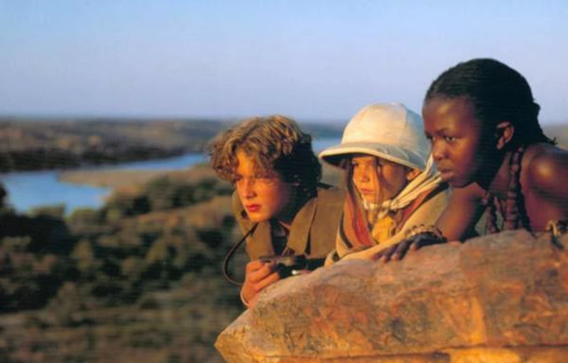 """Kadr z filmu """"W pustyni i w puszczy"""""""
