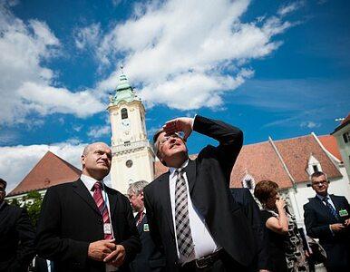 Prezydent na Słowacji: tutaj ginęli Polacy