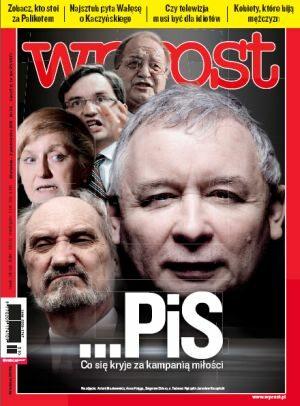 Okładka tygodnika Wprost nr 39/2011 (1494)