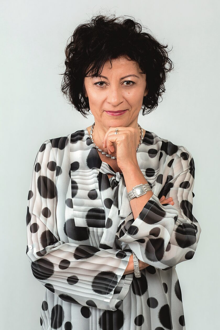 prof. Agnieszka Dobrowolska, kierownik Katedry i Kliniki Gastroenterologii, Dietetyki i Chorób Wewnętrznych Uniwersytetu Medycznego w Poznaniu