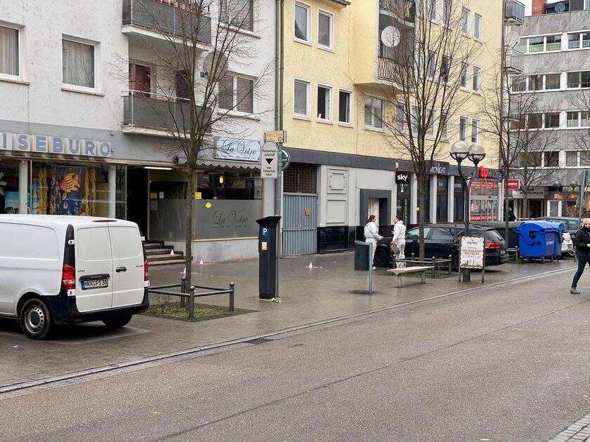 Miejsce, w którym doszło do strzelaniny w niemieckim Hanau
