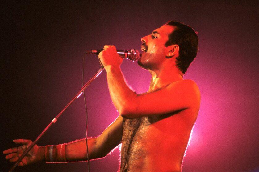 Freddie Mercury 1984 rok