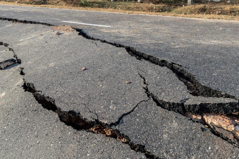 Trzęsienie ziemi, zdjęcie ilustracyjne