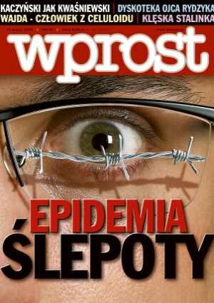 Okładka tygodnika Wprost nr 10/2006 (1213)