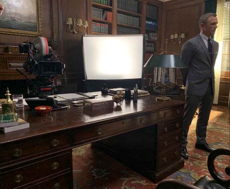 Daniel Craig na planie filmu o Jamesie Bondzie
