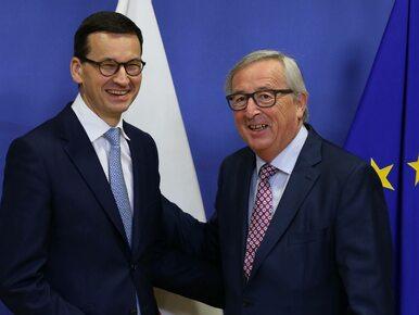 """Premier Morawiecki rozmawiał z Junckerem ws. praworządności. """"Wierzę, że..."""