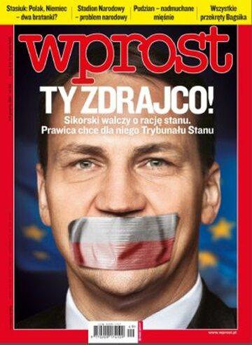Okładka tygodnika Wprost nr 49/2011 (1504)