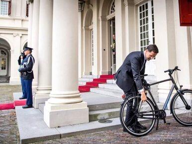 Premier z wizytą u króla Holandii. Jego zachowanie podbiło serce...