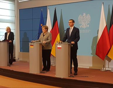 Zakończyły się polsko-niemieckie konsultacje. Angela Merkel i premier...
