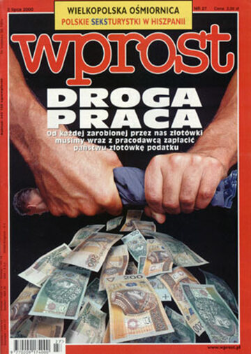 Okładka tygodnika Wprost nr 27/2000 (918)