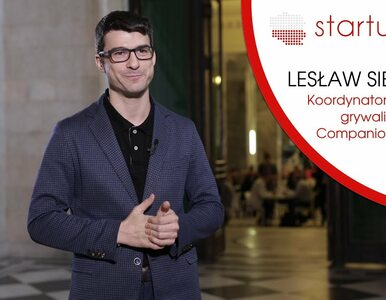 startupy.tv| Lesław Sierocki, Companion Sp. z o.o.