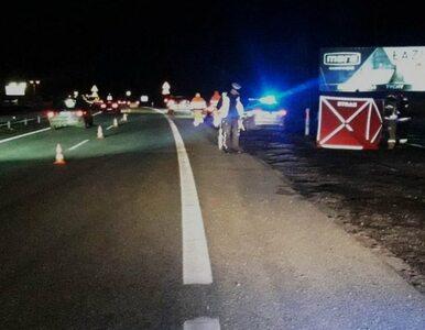 Kobieta wysiadła z auta po drobnej kolizji i zginęła