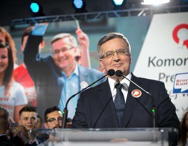 """Prezydent w Kielcach. """"Uczeń czarnoksiężnika"""", okrzyki """"WSI"""",..."""