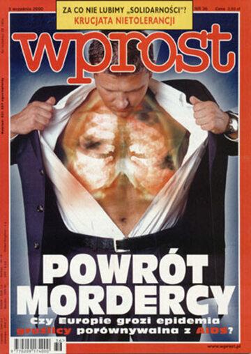Okładka tygodnika Wprost nr 36/2000 (927)