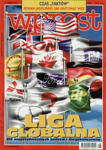 Okładka tygodnika Wprost nr 8/1999 (847)