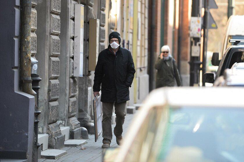 Mieszkaniec Krakowa w czasie epidemii koronawirusa