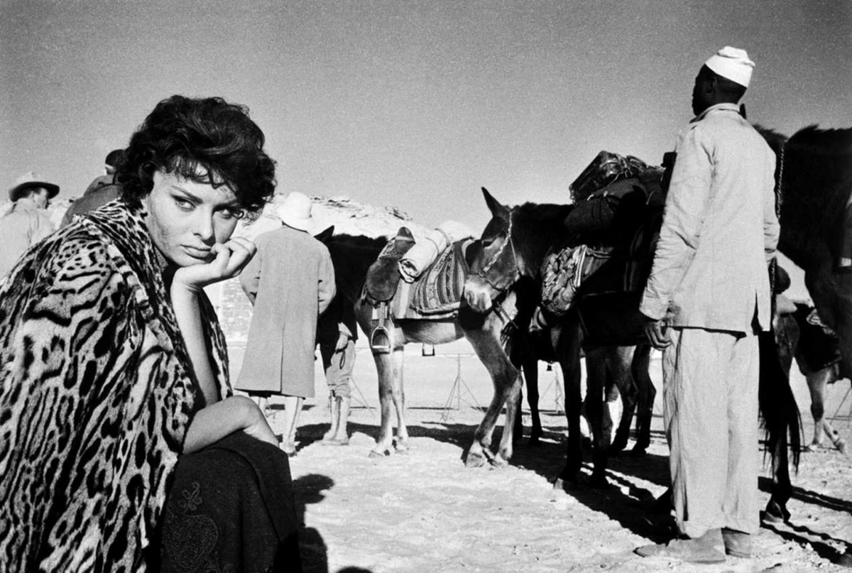 "Sophia Loren w filmie ""Legenda zaginionego miasta"" (1957)"