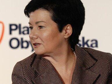 Gronkiewicz-Waltz: Nie powierzyłabym sztabowcom kolejnej kampanii