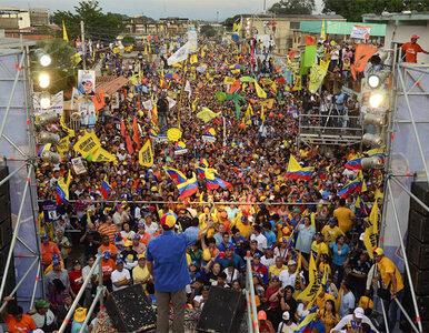 Wenezuela wybrała prezydenta. Próbnie