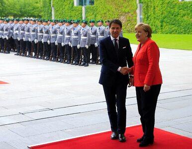 Nagrano nieformalną rozmowę kanclerz Niemiec i premiera Włoch. O czym...