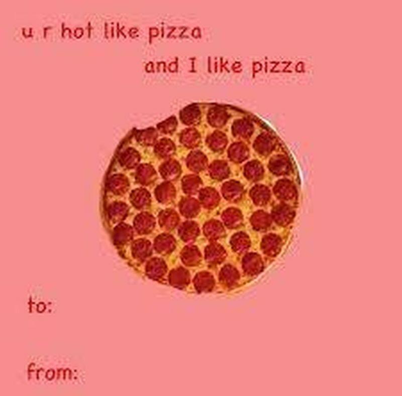 Jesteś gorąca jak pizza, a lubię pizzę