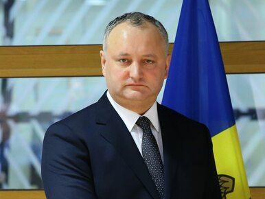 Trybunał Konstytucyjny zawiesił prezydenta Mołdawii w pełnieniu obowiązków