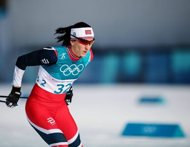 Marit Bjoergen tryumfowała w biegu na 30 km. Justyna Kowalczyk na 14....