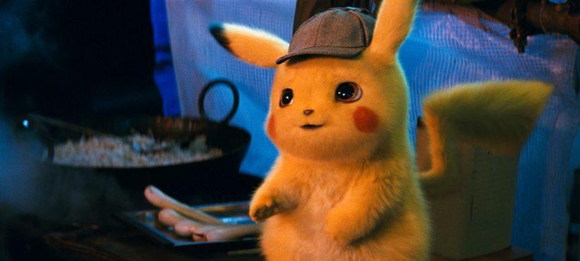 """Kadr z filmu """"Pokemon: Detektyw Pikachu"""""""