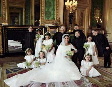 Pierwsze oficjalne zdjęcia ślubne Meghan Markle i księcia Harry'ego