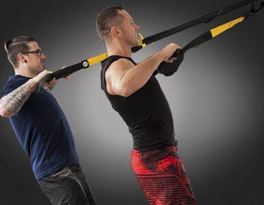 Trening TRX pozwala efektywnie schudnąć. Wystarczy ten jeden gadżet