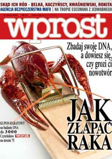 Okładka tygodnika Wprost nr 12/2005 (1164)