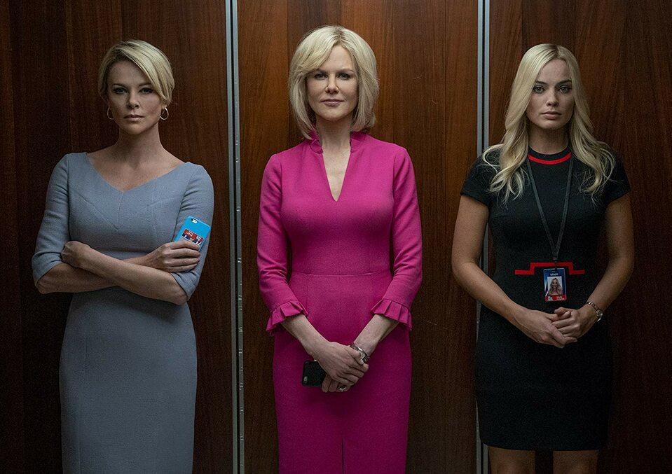 """Charlize Theron, Nicole Kidman, Margot Robbie w filmie """"Bombshell"""""""