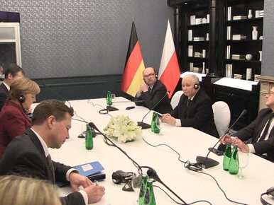 """""""Umówiliśmy się z panią kanclerz, że nasze rozmowy będą częściowo..."""